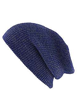 Heritage Heather Royal Blue Beanie - Blue