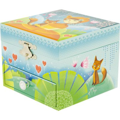 Children's Girl's Musical Jewellery Boxes - Fox | Children's Gifts