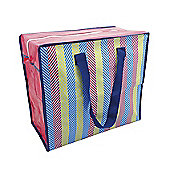 Alfresco Insulated Shopping, Stripe Design