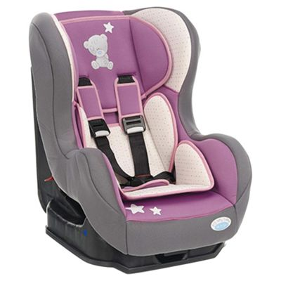 Obaby Group 0+ / 1 Combination Car Seat, Tiny Tatty Teddy Dusky Pink