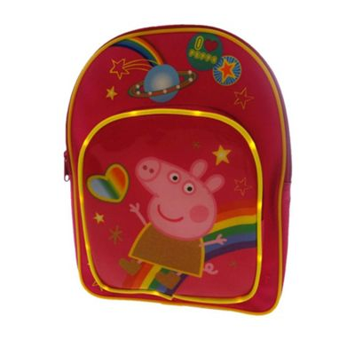 Character Peppa Pig Cosmic 'LED Flashing Lights Backpack