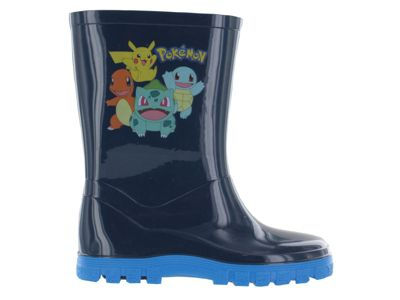 Pokemon Medlock Wellies Wellington Boots Blue UK Size 7