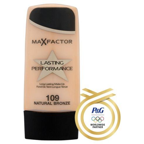 Max Factor Lasting Performance Make Up109 Natural Bronze