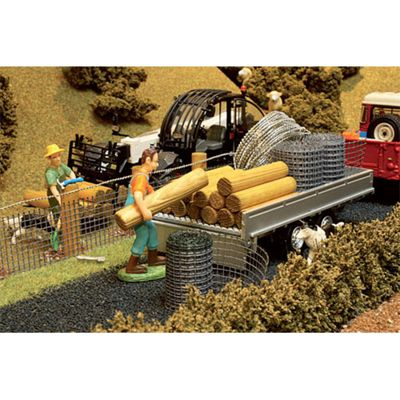 Brushwood Bt3001 Diy Stock Fencing Pack - 1:32 Farm Toys