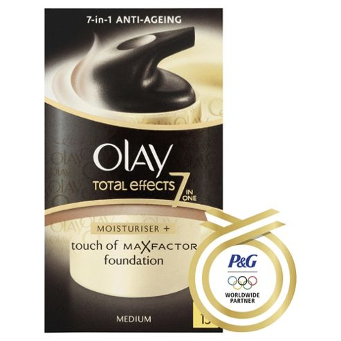 Olay Total Effects Touch Of Foundation. SPF 15 Med. 37Ml