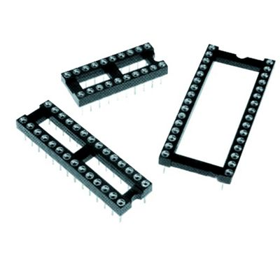 High Quality 0.3In 28 Way Turned Pins Dil IC Socket