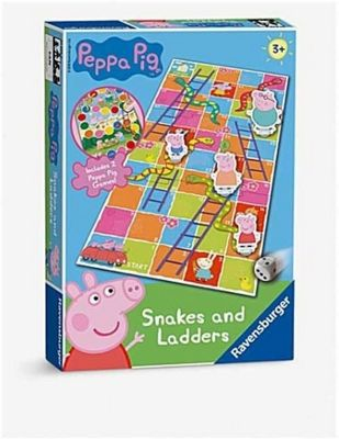 Peppa Pig - Snakes and Ladders Game