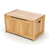 Tidlo Wooden Natural Toy Chest - Storage