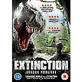 Extinction Jurassic Predators DVD