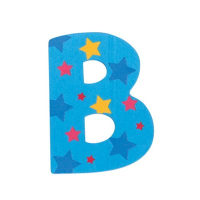 Bigjigs Toys Star Letter B (Blue)
