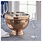 Fox & Ivy Copper Hammered Champagne Trug