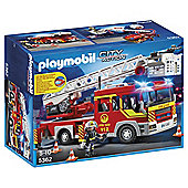 Playmobil 5362 City Action Fire Brigade Ladder Unit with Light and Sound