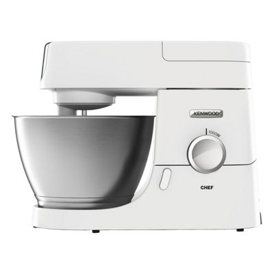 Kenwood-KVC3100WH Chef Stand Mixer with 1000W Power and Variable Speeds in White