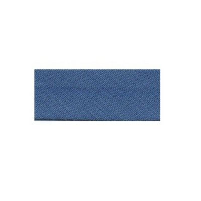 Essential Trimmings Polycotton Bias Binding, 2.5m x 25mm, Wedgewood