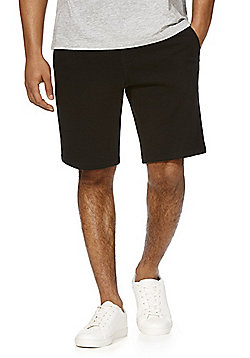 F&F Drawstring Jersey Shorts - Black
