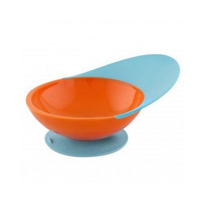 Boon Suction Catch Bowl - Orange & Blue