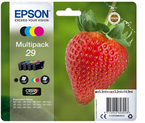 buy epson 29 multipack ink cartridge from our printer ink range tesco. Black Bedroom Furniture Sets. Home Design Ideas
