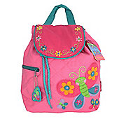 Children's Personalisable Quilted Backpack - Butterfly