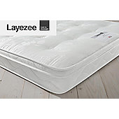 Layezee by Silentnight Calm Tufted Orthopaedic Mattress