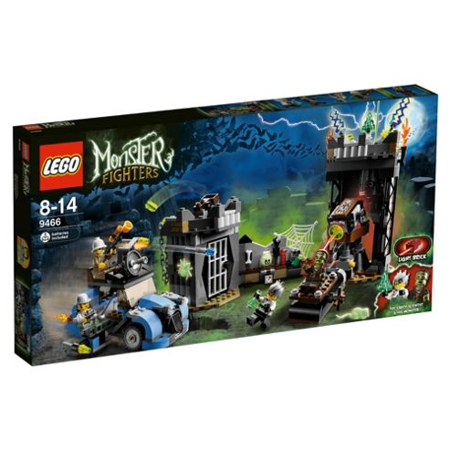 LEGO Monster Fighters The Crazy Scientist & His Monster 9466