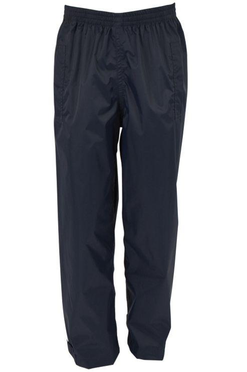 Pakka Kids Fold Pack Away Waterproof Overtrousers Walking Hiking Rain Trousers