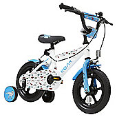 "Terrain T-Rex 12"" Wheel White Kids Bike"