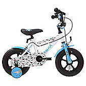 Terrain T-Rex 12 inch Wheel White Kids Bike