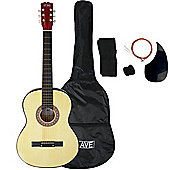 3rd Avenue Acoustic Guitar Pack - Natural