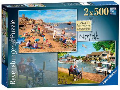 Picturesque Norfolk - 2x500pc Puzzle