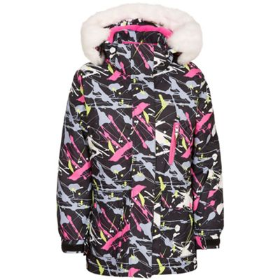 Trespass Girls Patience Insulated Jacket Black 11-12