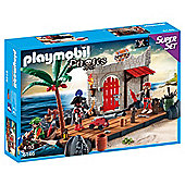 Playmobil 6146 Pirate Fort SuperSet Playset