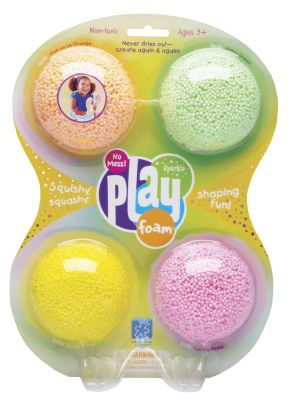 Learning Resources PlayFoam Sparkle 4 Pack