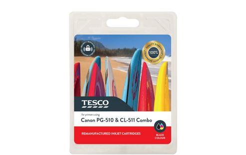 Tesco C510 Printer Ink Cartridge Combo