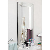 Large Venetian Modern Big Bevelled Wall Mirror 1Ft8 X 3Ft11 50cm X 120cm
