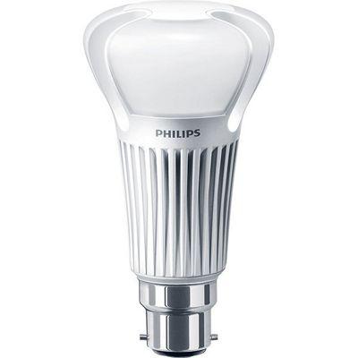Philips 13-75W GLS LEDbulb Bayonet Cap (BC) - Warm White