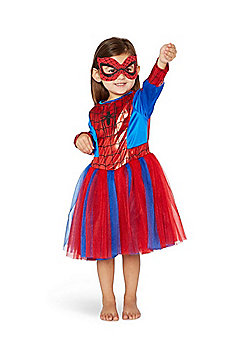 Marvel Spider-Girl Fancy Dress Costume - Red