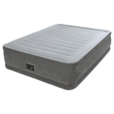 king size air mattress. Intex Dura-Beam Raised King Size Air Bed With Pump Mattress K