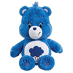 Care Bears Medium Soft Toy with DVD - Grumpy Bear