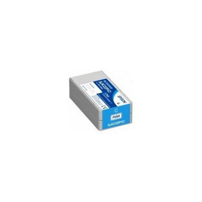 Epson SJIC22P(C): Ink cartridge for TM-C3500 (Cyan) C33S020602