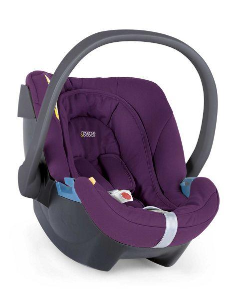 Mamas & Papas - Aton Car Seat - Plum
