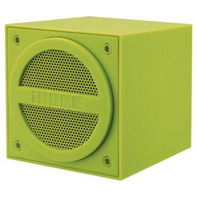 iHome IBT16 Bluetooth Mini Speaker Green