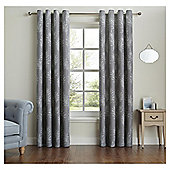 Fox & Ivy Fern Print Curtains - 66x72""