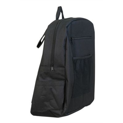 Deluxe Lined Wheelchair Bag in Black
