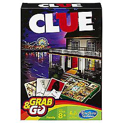 Cluedo Grab & Go Travel Game