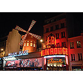 2 Night Paris Break with Dinner and Show at the Moulin Rouge