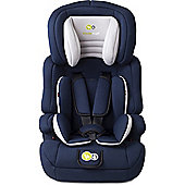 KinderKraft Comfort Up Car Seat 1-2-3 - Navy Blue