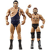 WWE WrestleMania 2 Pack Figures Andre the Giant and Million Dollar Man