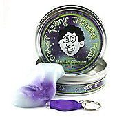 Crazy Aaron's Mystic Glacier UV Reactive Phantom Thinking Putty