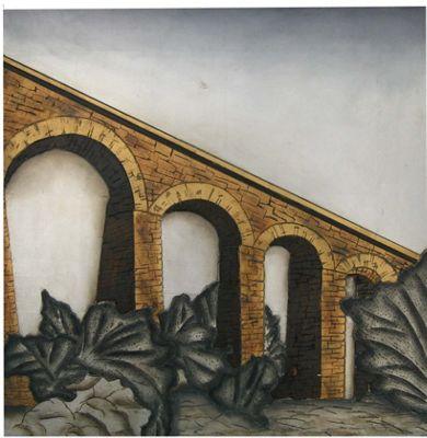 Oceans Apart Single Bridge Wall Art