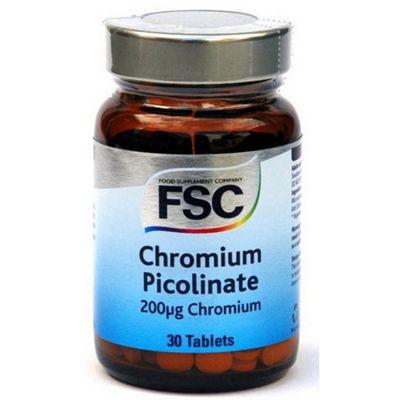 Fsc Chromium Picolinate 200Ug 30 Veg Capsules